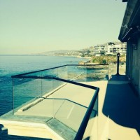 Custom Powder Coated and Fit Deck Railing in Laguna Beach, CA