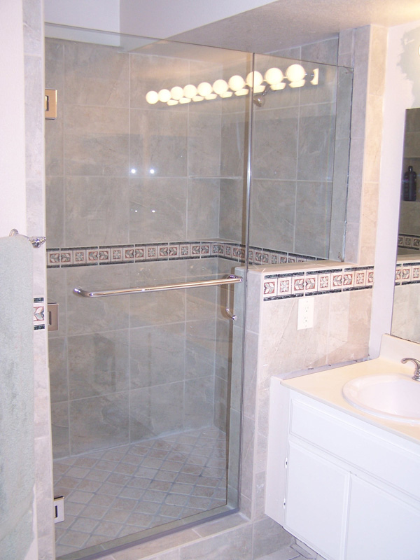 Door Panel Inline Shower Gallery South Coast Glass
