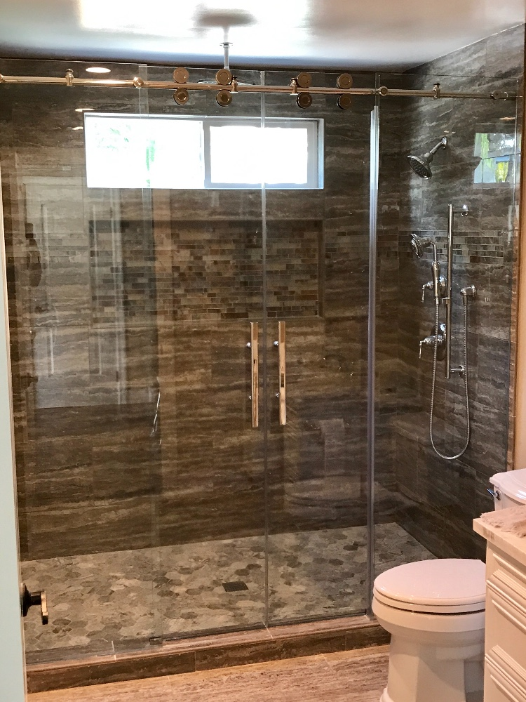 Euro Slider Shower Gallery South Coast Glass
