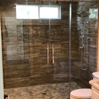 Custom ADA Euroslider Shower