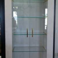 Custom Open Concept Fridge with Ultra Clear Glass