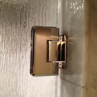 Standard Hinge in Polished Brass Finish