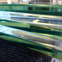 Regular Clear Glass and Low Iron Starphire Glass