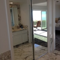 Mirrored Wardrobe Doors with Mirrored Fascia