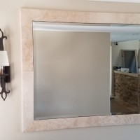 Tight Fitting Mirror in San Juan Capistrano Home