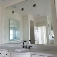Tight Fitting Mirror with 3 Holes
