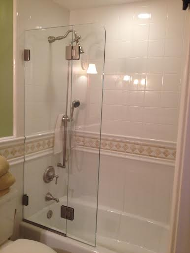 Shower Screens Gallery | South Coast Glass