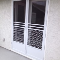 Double Swinging Screen Doors