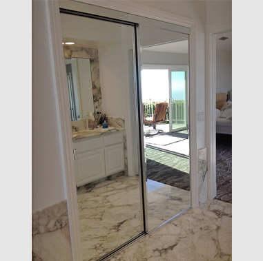 Frameless Mirrored Wardrobe Doors Mission Viejo Laguna Niguel San